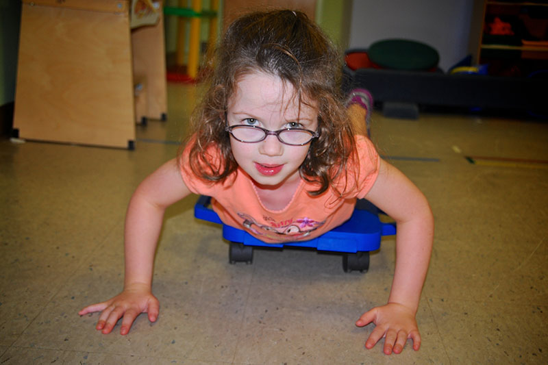 Outpatient Child Playing
