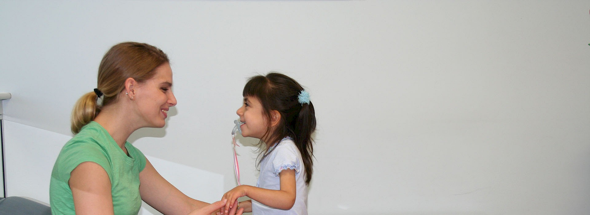 Outpatient Services Child with Therapist