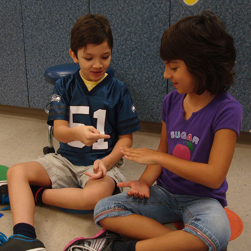 Theraplay Children Playing